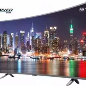 Smart Tv Sankey De 55 4k Uhd Curvo