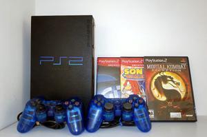 Play Station 2 Fat 2 Controles 3 Juegos Originales 1 Memoria