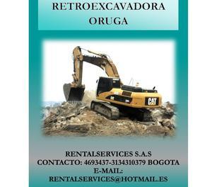 ALQUILER DE RETROEXCAVADORAS EN BOGOTA