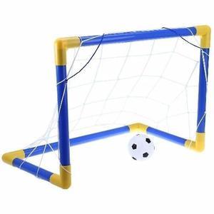 Cancha De Futboll Niños Portable + Balon+pito
