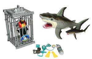 Juguete Shark Attack Figure Playset De Animal Planet