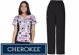 Uniforme Cherokee Talla Xs Y M Mujer (tooniform)