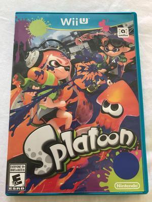 Vendo Juego Splatoon Nuevo para Nintendo Wii U