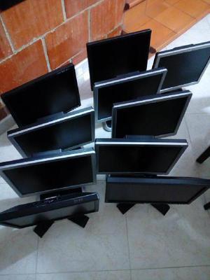 Lote 8 Monitores De 17 Pulgadas Hp,y Dell - Medellín