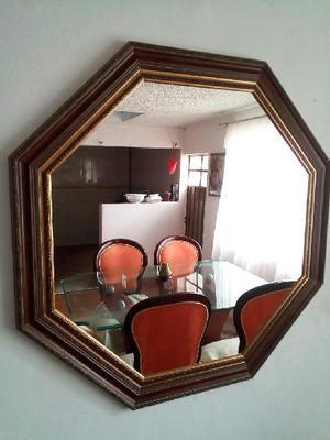 Vendo Hermoso Espejo de Lujo Octagonal - Bogotá