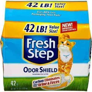 Arena Para Gatos Fresh Step 42 Libras Americanas 19 Kilos