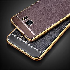 Forro Estuche Tipo Cuero De Lujo Para Samsung S8 Plus