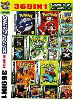 Juego Gameboy Advance 369 En 1 No Repite