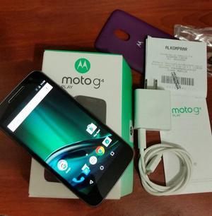 Motorola Moto G4 play, En Caja con todo, Factura, Como nuevo