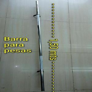 Barra para Pesas de 1.50 Mts - Cali