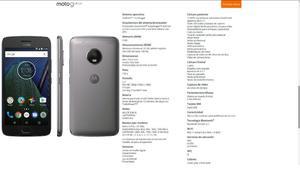 Motorola G5 Nuevo!