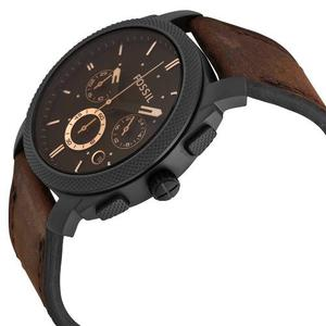 Reloj Fossil Machine Cronógrafo Cuero Hombre Fs