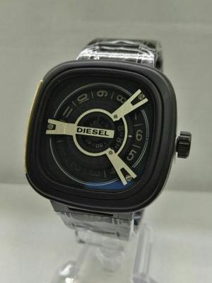 Reloj Hombre Diesel Metalico Elegante Calidad 100% Funcional