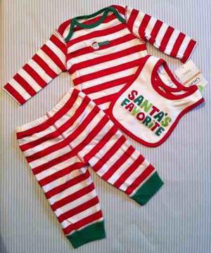 Set Carter's Navidad Para Bebe Unisex Carters Entrega Inmedi