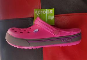 Crocs Chanclas Para Hombre O Para Mujer Retro Roja O Azul