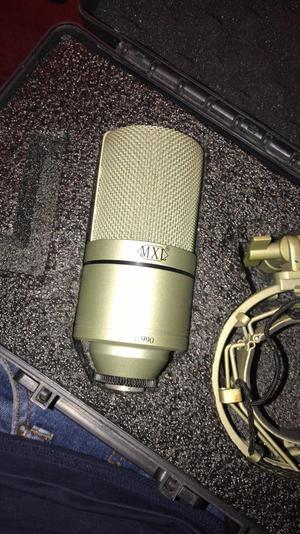 Microfono Condensador Mxl 990