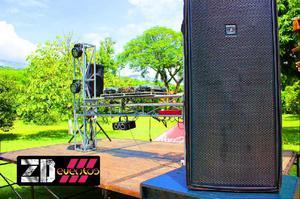 sonido para eventos y fiestas - Medellín