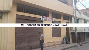 BODEGA EN ARRIENDO LAS LUNAS - San Juan de Pasto