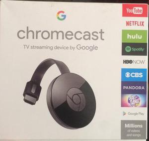 Chromecast 2 Segunda Generación Nuevo y Original!