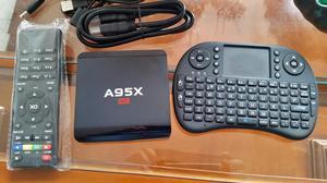 Tv Box A95x Quadcore. Android Tv