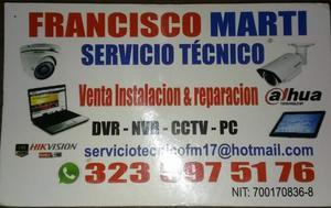 soporte venta instalación cámaras de seguridad