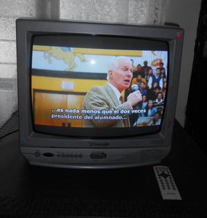 tv panasonic de 20 con control