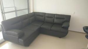 Mueble En L Color Negro Perfecto Estado