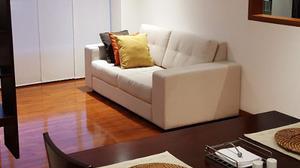 Mueble Sofá Tapizado Para Sala O Alcoba 2 Puestos Estad