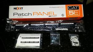 Patch Panel Profesional de 24 Puertos marca NEXXT