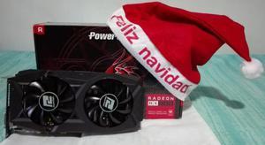 Tarjeta De Video Amd Radeon Rx gb Power Color Poderosa!