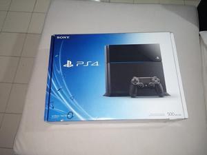 A LA VENTA PS4 NEGRA DE 500 GIGAS