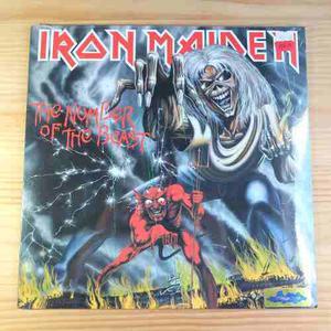 Iron Maiden Number Of The Beast Vinilo Lp Nuevo 180g