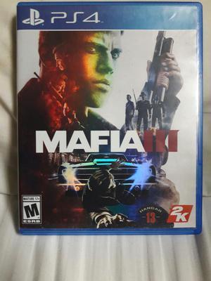 Mafia Lll para Ps4