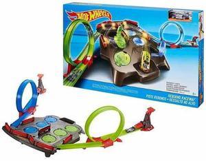 Pista De Carros Hot Wheels De Super Rebotes Niños Autos