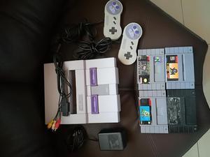 Super Nintendo Original con Juegos
