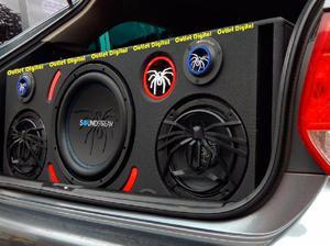 Cajón acústico SOUNDSTREAM para tú carro, sonido