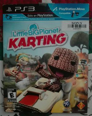 Lbpk little Big Planet Karting Ps3