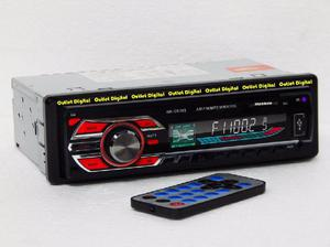 Radio para carro con bluetooth usb sd auxiliar frontal