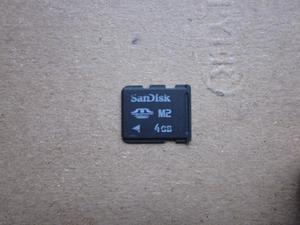 vendo memoria M2 scandisk de 4 Gb para psp go o celular