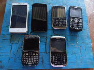 vendo o permuto 6 celulares para repuestos