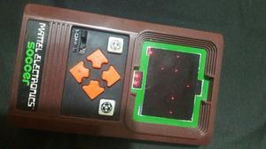 Clasica Consola Portatil Mattel Electronic Soccer