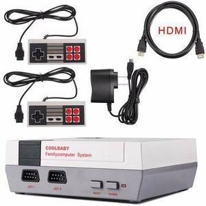 Consola Retro/hdmi Incluye 2 Controles Y 600 Juegos