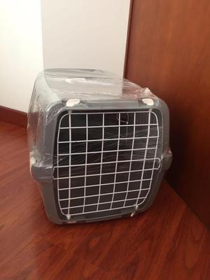 Guacal resistente para perros y gatos de raza mediana y