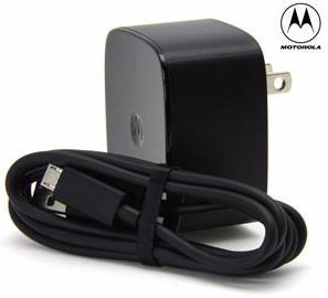 Cargador Motorola Turbo Power Carga Rápida 2a Batería 2.1