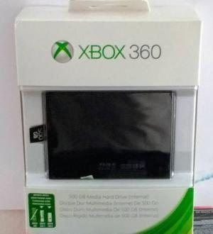 Disco Duro 500gb Original Xbox 360.