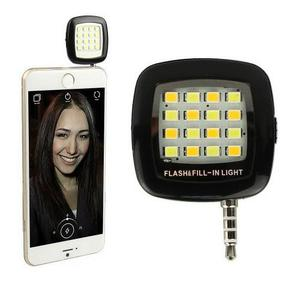 Flash Celular Flash Led Para Smartphone Luz Ajustable 16 Led
