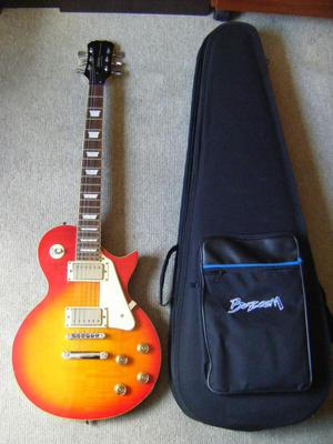 Guitarra Maxtone Traditional Series Les Paul Con Estuche!!!!