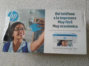 Impresora HP DeskJet Ink Advantage 3775. - Medellín