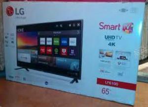 Tv Lg Smart 4k Uhd de 55 Y de 65 Nuevos