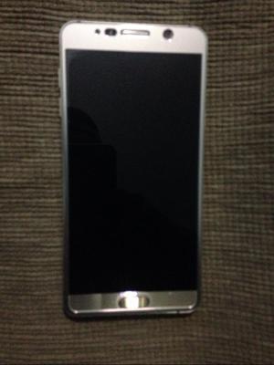 Vendo Samsung Galaxy Note 5 Dorado